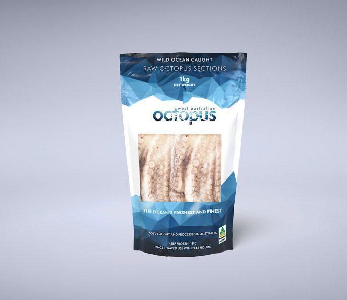 1 kilogram packet of West Australian Octopus