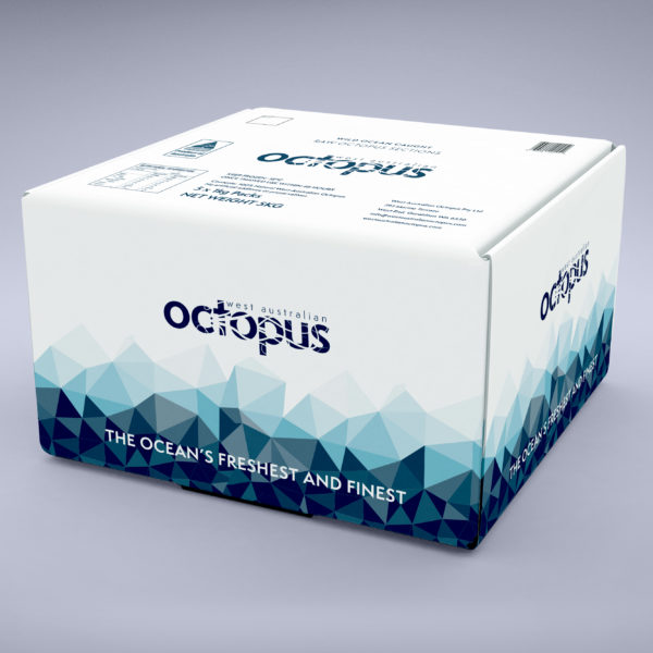 West Australian Octopus - White Cartons with 1 kg packets
