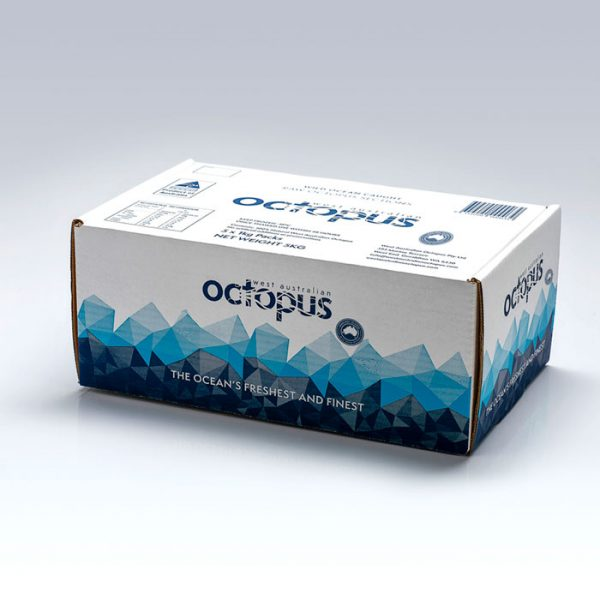 Our Products - 5kg carton of West Australian Octopus in 5 x 1kg packs
